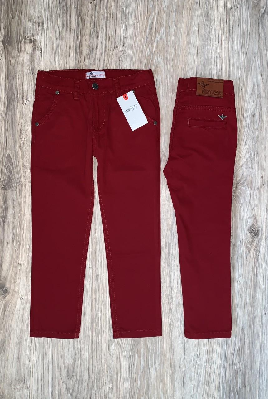 Бордовые брюки Armani для мальчика