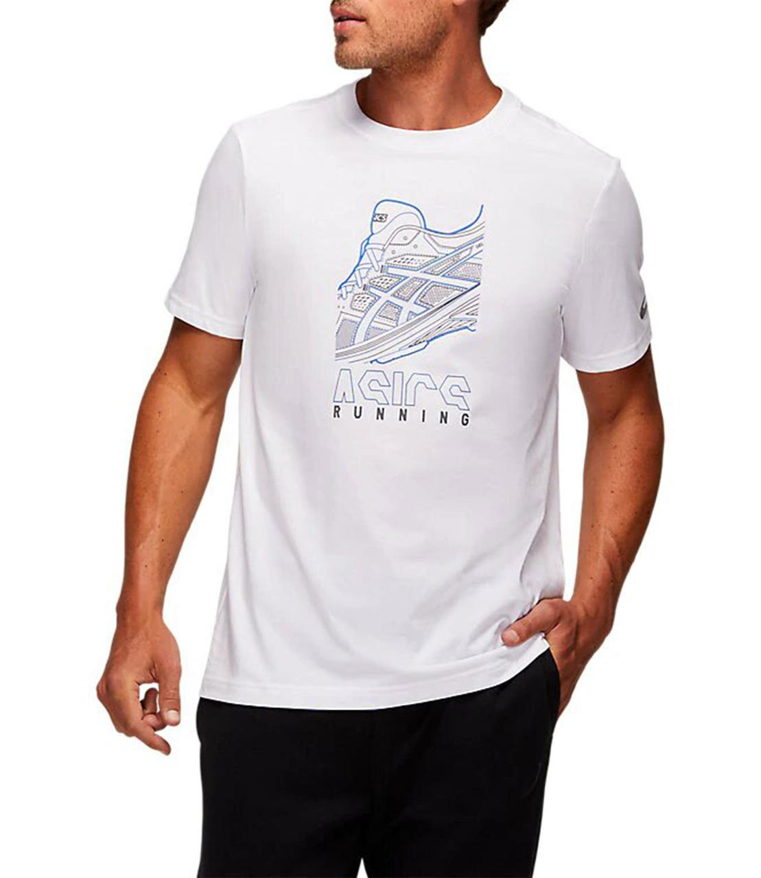Футболка Asics Running Graphic Tee 2031B353 100