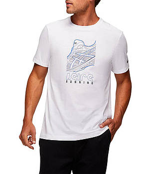 Футболка Asics Running Graphic Tee 2031B353 100, фото 2