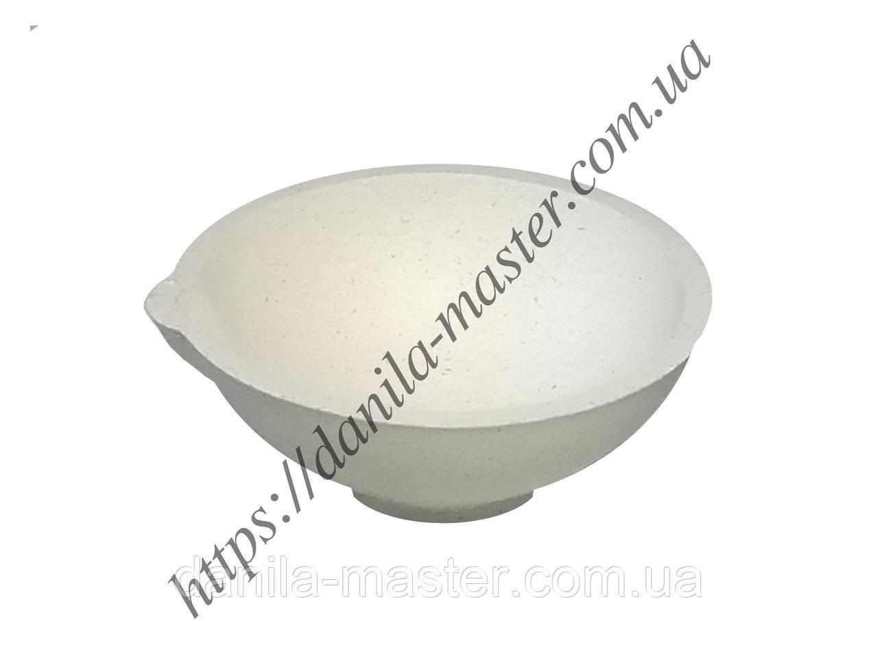 Тигель высокоогнеупорный керамический №3k /Ø 55 мм, h=22 мм/