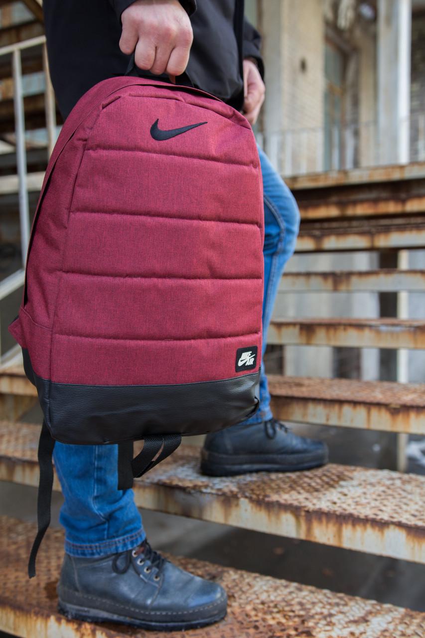 Рюкзак Nike AIR (Найк) червоний меланж