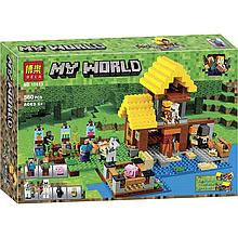 "Конструктор ""Minecraft"" (10813) Фермерский коттедж, 560 деталей"