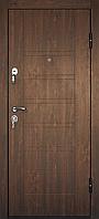 Металлические входные двери ПБ-206 Дyб тeмний