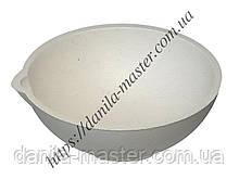 Тигель тонкостінний керамічний  №8k /Ø 80 мм, h=32 мм/