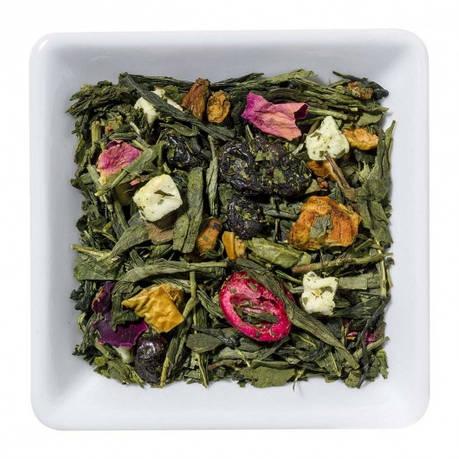 Зелений Чай Сонячний виноград крупно листовий Tea Star 250 гр, фото 2