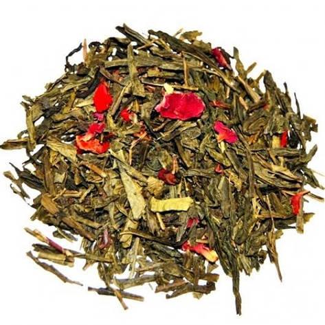 Зелений Чай Розсипний Чебрець-Полуниця крупно листовий Tea Star 100 гр, фото 2