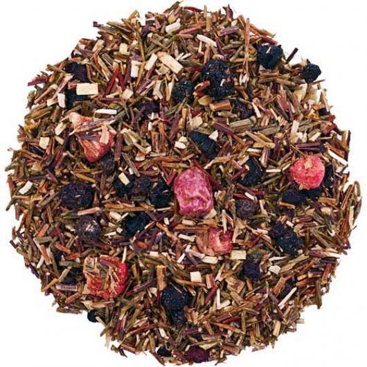 Розсипний Чай Заварний Червоні ягоди крупно листовий Tea Star 250 гр