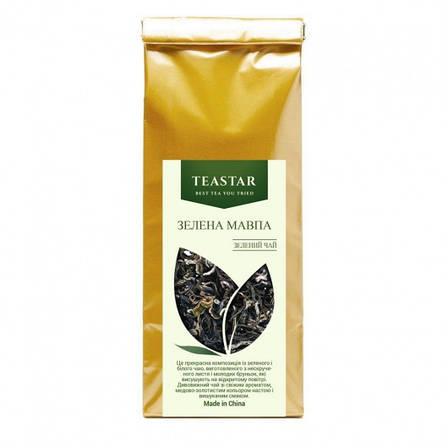 Зелений Розсипний Чай Заварний Зелена Мавпа крупно листовий Tea Star 250 гр, фото 2