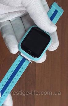 Смарт-часы с GPS, Wi-Fi, Smart Baby Watch Q100 Голубые