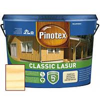 Декоративная пропитка для защиты древесины Pinotex Classic Lasur, 10 л