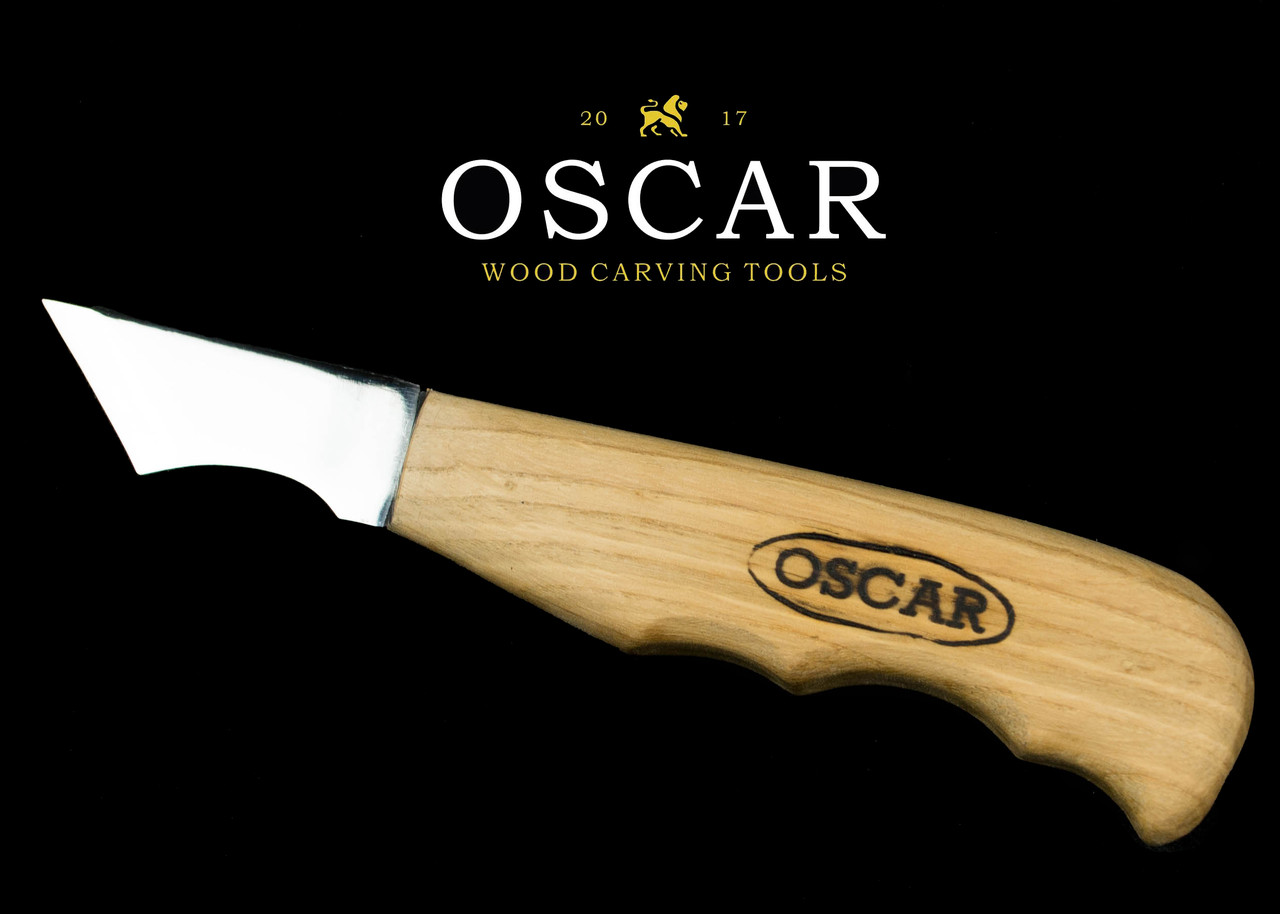 Нож-косяк для резьбы по дереву OSCAR