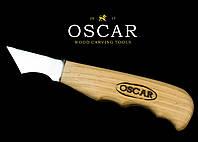 Нож-косяк для резьбы по дереву OSCAR, фото 1
