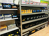 Стеллаж полочный 2500х1535х500 мм, 3 полки с ДСП оцинкованный для склада, гаража, магазина, фото 3