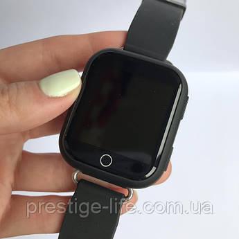 Смарт-часы с GPS, Wi-Fi, Smart Baby Watch Q100 цвет Черный