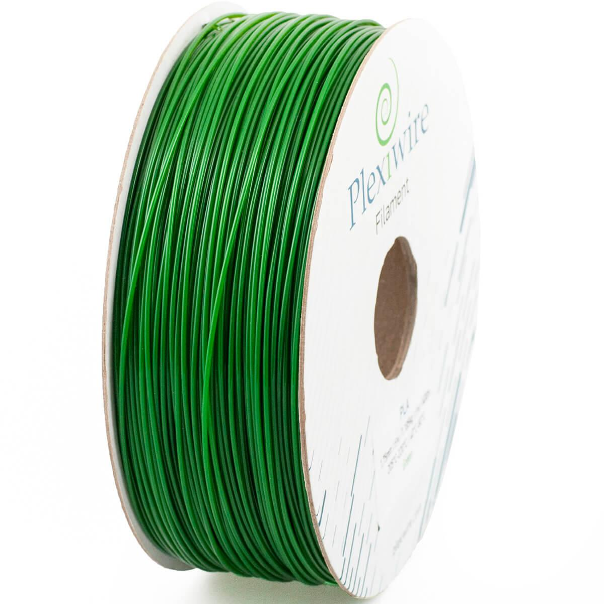 PLA пластик для 3D принтера 1.75 мм Зелений (300 м / 0.9 кг)