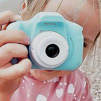 Детский фотоаппарат KVR-001 Голубой
