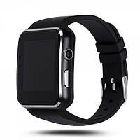 Смарт-часы UWatch X6 Black часофон