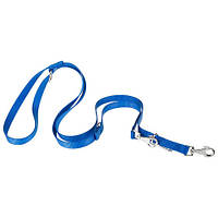 Регулируемый нейлоновый поводок Ferplast Club GA15/200 Blue для дрессировки собак, синий, 15 мм, 200 см