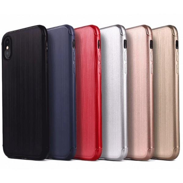 Чехол Накладка Силикон TPU Rubble iPhone 10 (Глянец) ОРИГИНАЛ