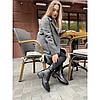 Зимние ботинки Villomi кожаные женские на каблуке, фото 2