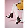 Зимние ботинки Villomi кожаные женские на каблуке, фото 3