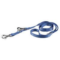 Регулируемый нейлоновый поводок Ferplast Club GA20/200 Blue для дрессировки собак, синий, 20 мм, 200 см