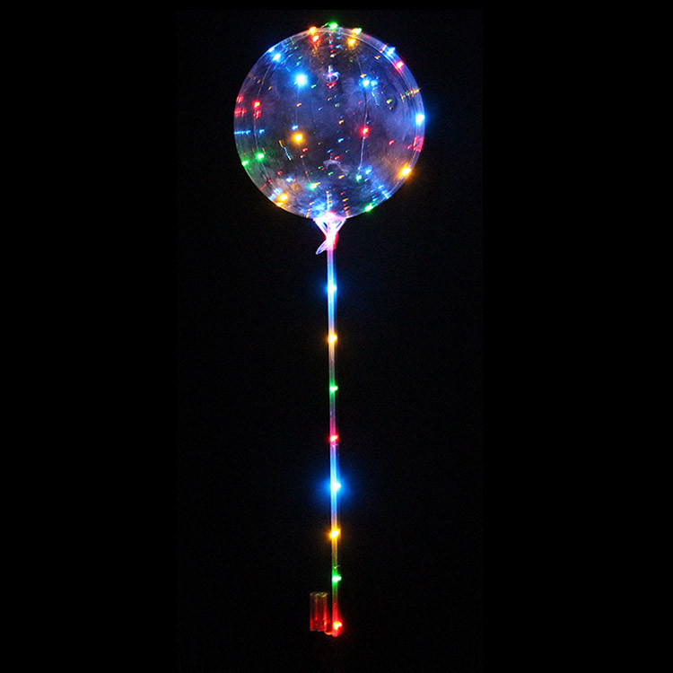 Шарики воздушные с подсветкой Bobo Balloons (большие) 3 режима работы 68 см (круглые)