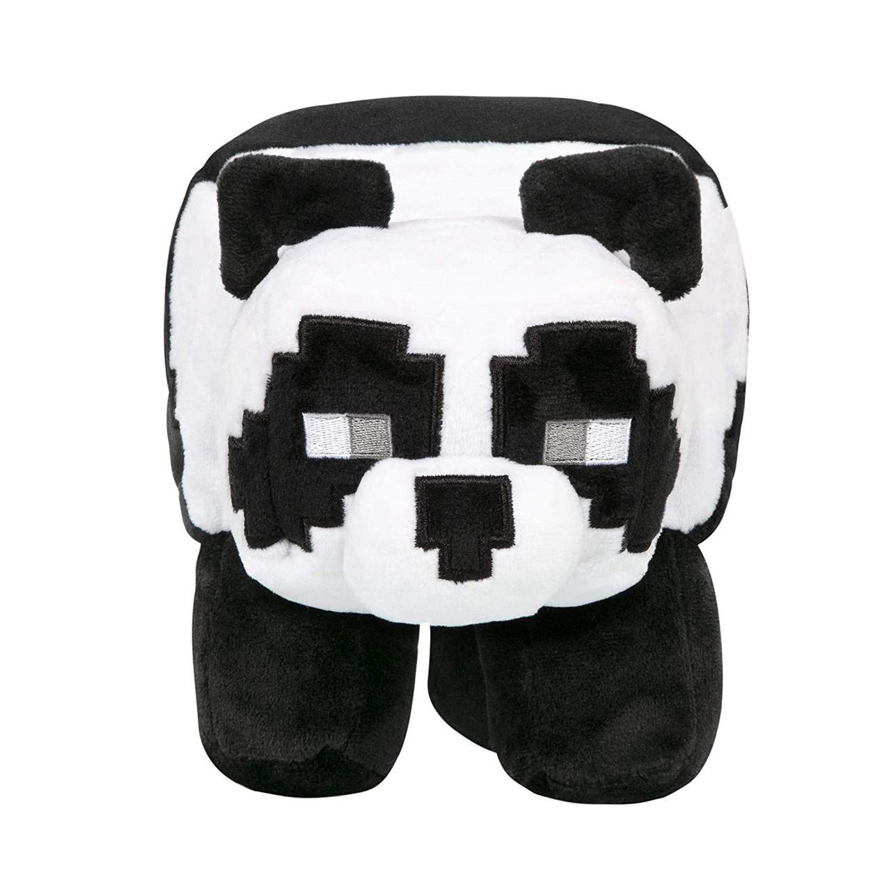 Мягкая игрушка Панда маленькая Minecraft 19 см