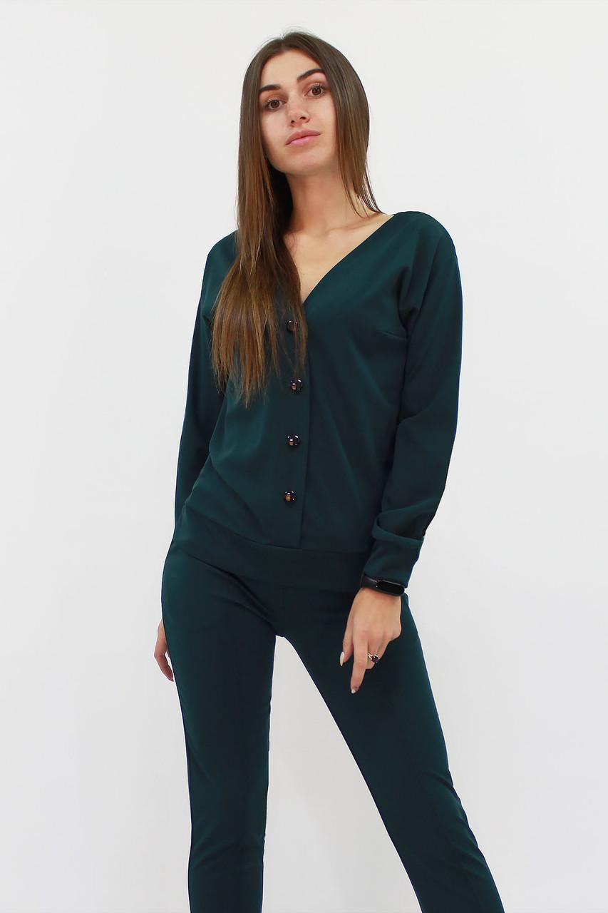 Повседневный женский костюм Nevada, темно-зеленый