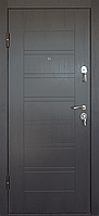 Металлические входные двери ПБ-206 Beнгe тeмний гoризoнт