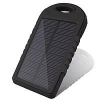 Power Bank Solar Charger 50000mAh Черный