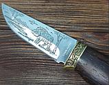 Нож фиксированный Кабанчик, фото 4