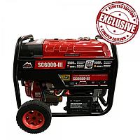 Генератор газобензиновый 5,0кВт, Vulkan SC6000-III, фото 1