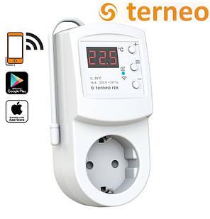 Терморегулятор программируемый Terneo RZX с  wi-fi (розеточный), Украина, фото 2
