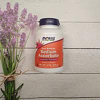 Now Foods Sodium Ascorbate 227 g Vitamin C powder , аскорбат натрия Витамин С порошок, фото 1