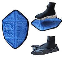 Автоматичні багаторазові бахіли Reusable Portable Automatic Shoe (мікс кольорів), фото 1