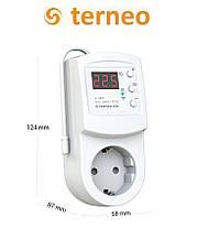 Терморегулятор программируемый Terneo RZX с  wi-fi (розеточный), Украина, фото 3