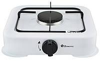 Настольный газовый таганок (плита) Domotec MS 6601 на 1 конфорку White (4062), фото 1