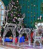 Новогодний 3D Led Олень в Наличии Высота 160см, фото 5