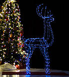 Новогодний 3D Led Олень в Наличии Высота 160см, фото 8