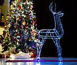 Новогодний 3D Led Олень в Наличии Высота 160см, фото 3