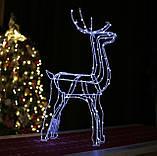 Новогодний 3D Led Олень в Наличии Высота 160см, фото 9