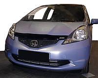 Honda Jazz III 2009-2013 гг. Дефлектор капота (SIM)