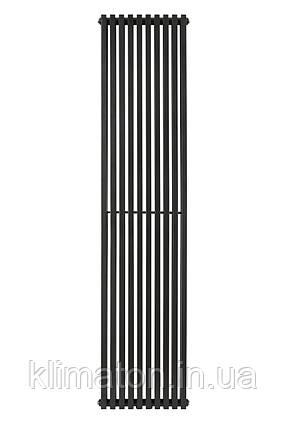 Вертикальный трубчатый радиатор BQ Quantum H-1800 мм, L-405 мм, фото 2