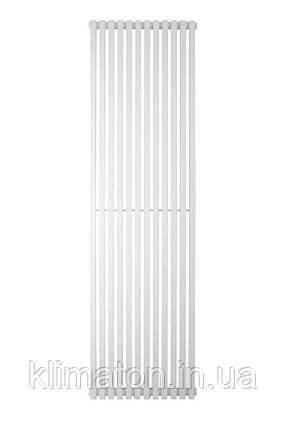 Вертикальный трубчатый радиатор BQ Quantum H-1800 мм, L-485 мм, фото 2