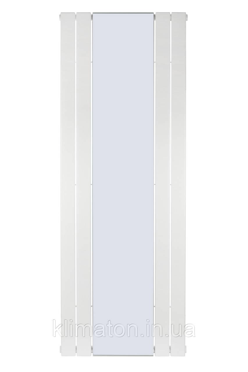 Вертикальный радиатор  Mirror, H-1800 мм, L-609 мм, с зеркалом