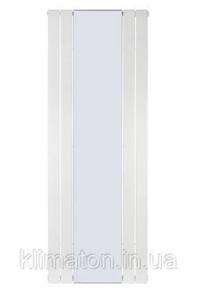 Вертикальный радиатор  Mirror, H-1800 мм, L-609 мм, с зеркалом, фото 2