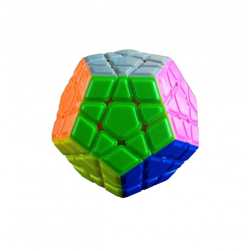 Кубик Рубіка QiYi X-Man Megaminx Convex Stickerless 8 см (0934C-2)