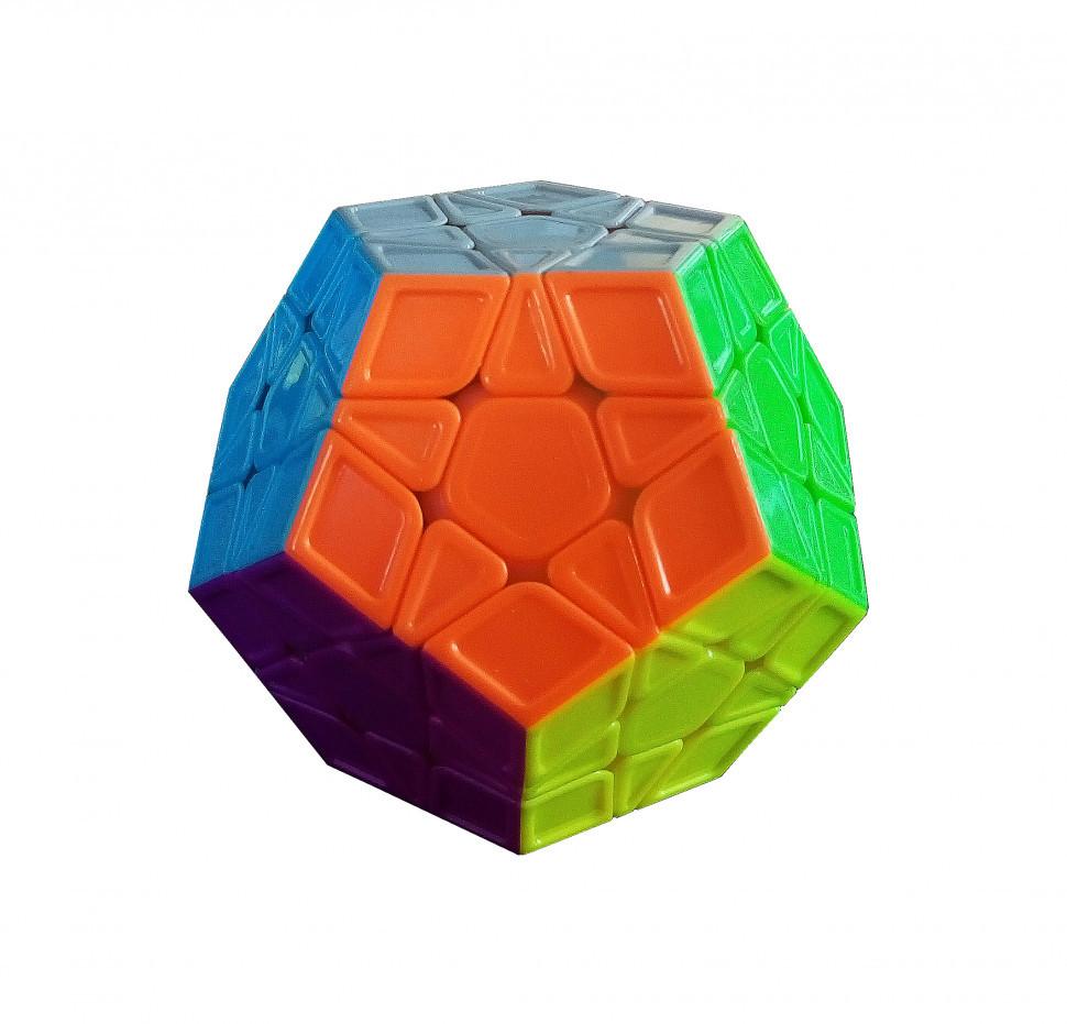 Кубик Рубика QiYi X-Man Megaminx Sculpture Stickerless 8 см (0934C-4)