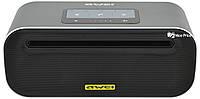 Портативная сенсорная Bluetooth колонка Awei Y600 (Bluetooth, MP3, AUX, Mic) Grey (5587)